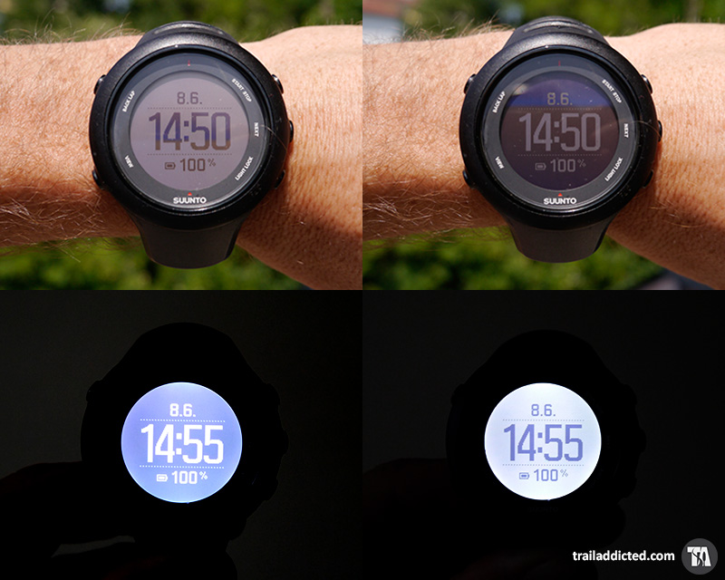 Suunto Ambit 3 Sport - Display modes