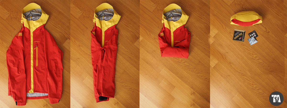 LaSportiva Storm Fighter - packing