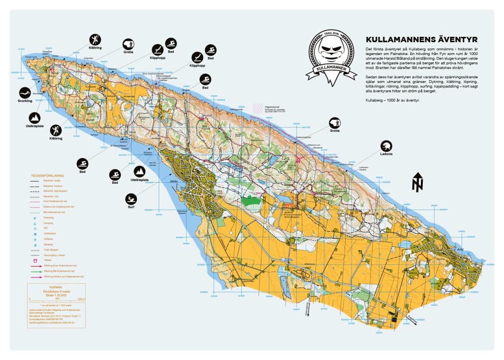 Kullamannen Track in Kullaberg peninsula