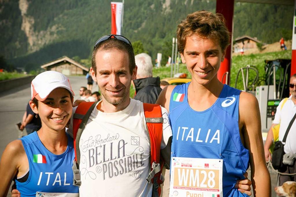 Gloria, Fabio Giudici e Francesco Puppi a Zermatt