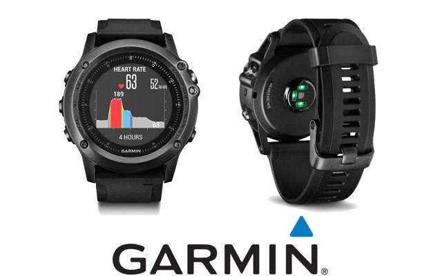 GARMIN presenta FENIX 3 Sapphire HR con sensore cardio integrato