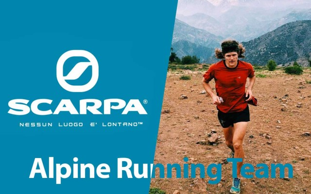 Ultrarunner Joe Grant join Scarpa Alpine Running Team
