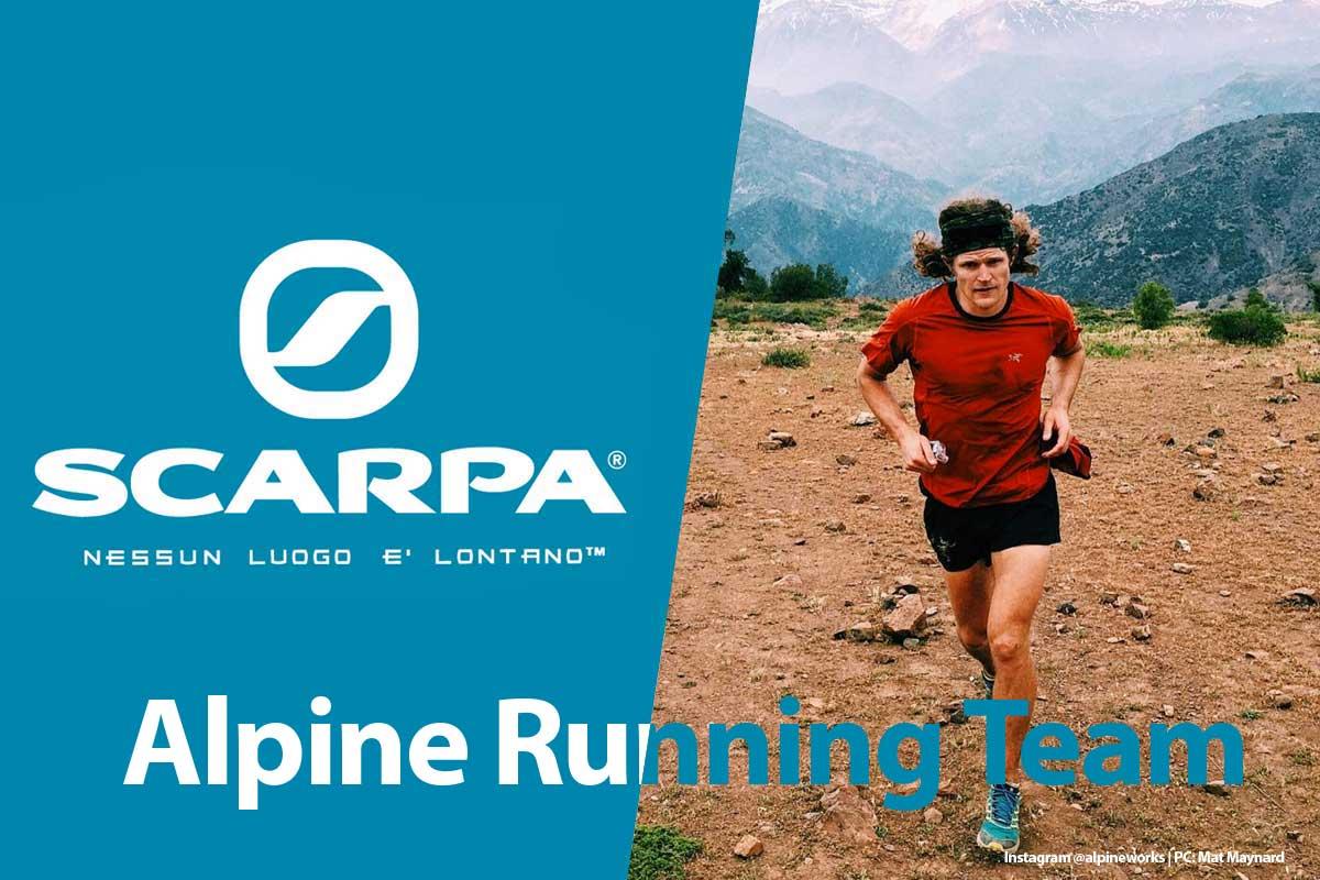 Joe Grant join Scarpa Alpine Running Team
