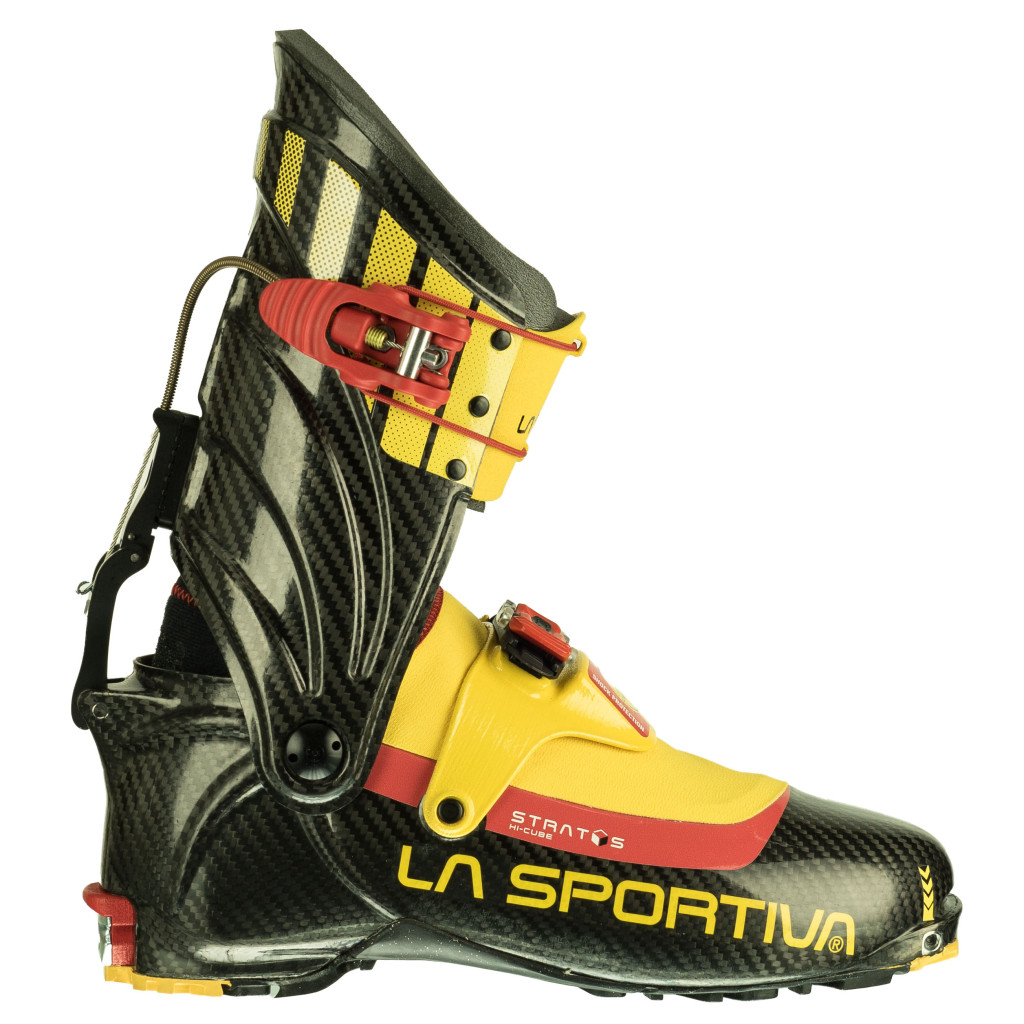 LaSportiva Stratos HiCube - Carbon/Yellow
