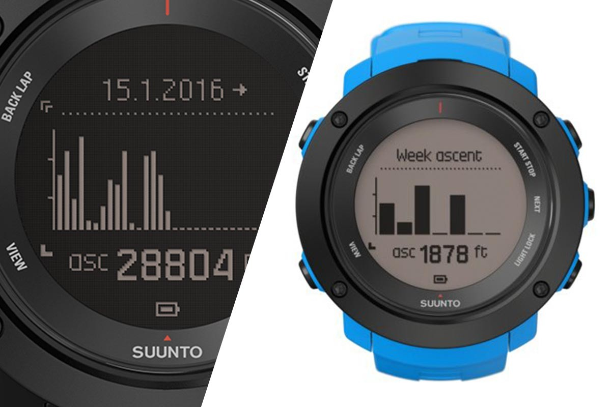 Suunto Ambit 3 Vertical – Dislivello a portata di Display