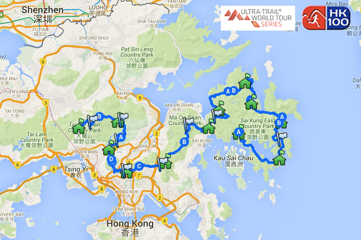 Vibram® Hong Kong 100 Ultra Trail Race – 1a Prova UTWT