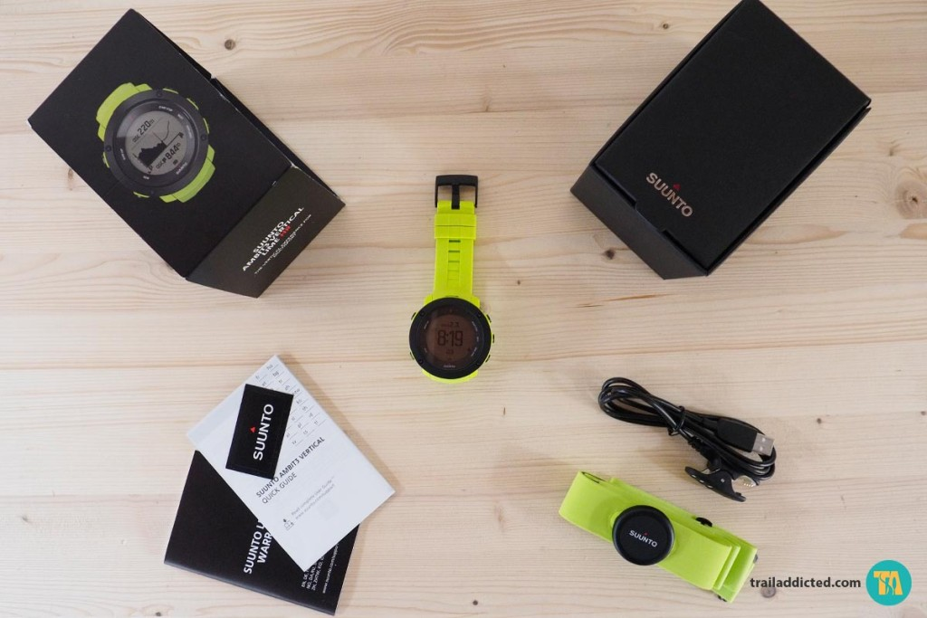 Suunto Ambit 3 Vertical HR Lime