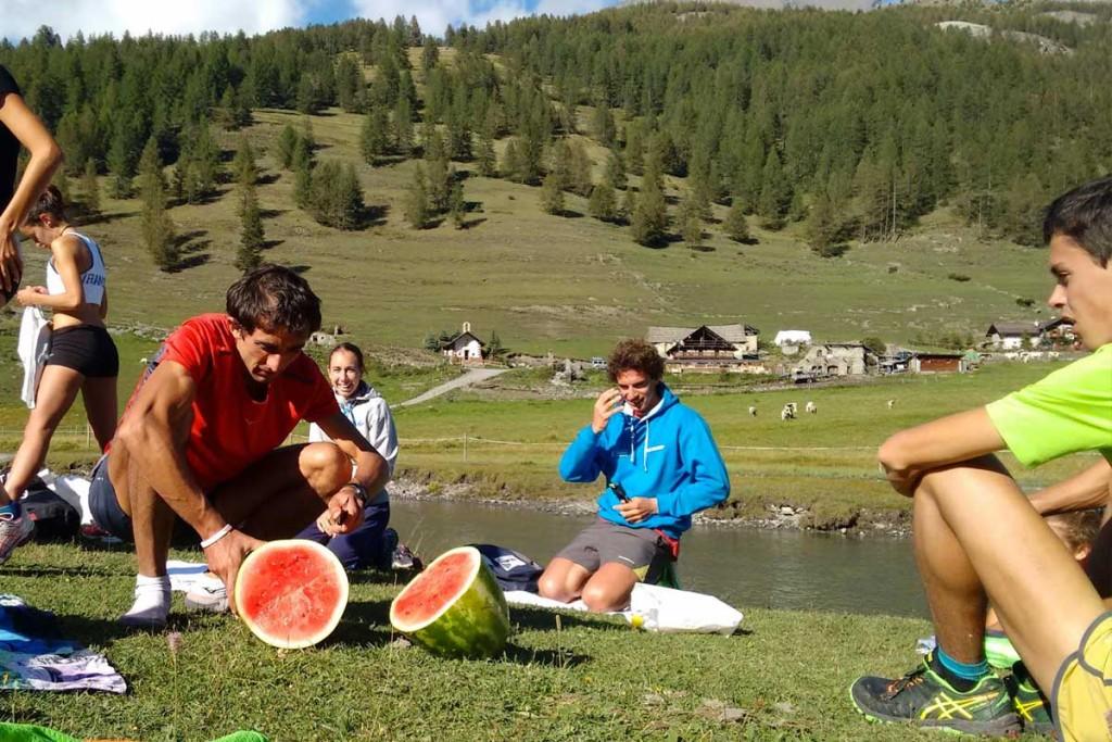Mountain Running Italian Team - immagine raduno estivo 2015 Sestriere