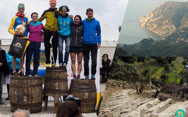 Sciacchetrail 2016, alle Cinque Terre vittoria per Daniel Jung e Silvia Rampazzo