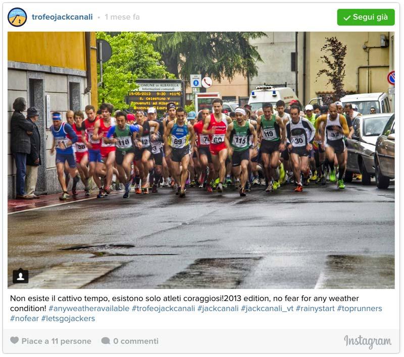 Trofeo Jack Canali 2016 - Partenza