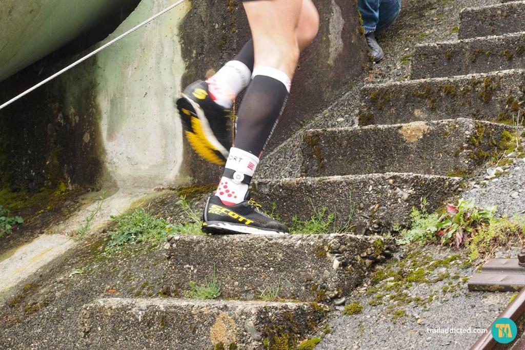 """I gradini che """"danno il ritmo"""" al Vertical Tube"""