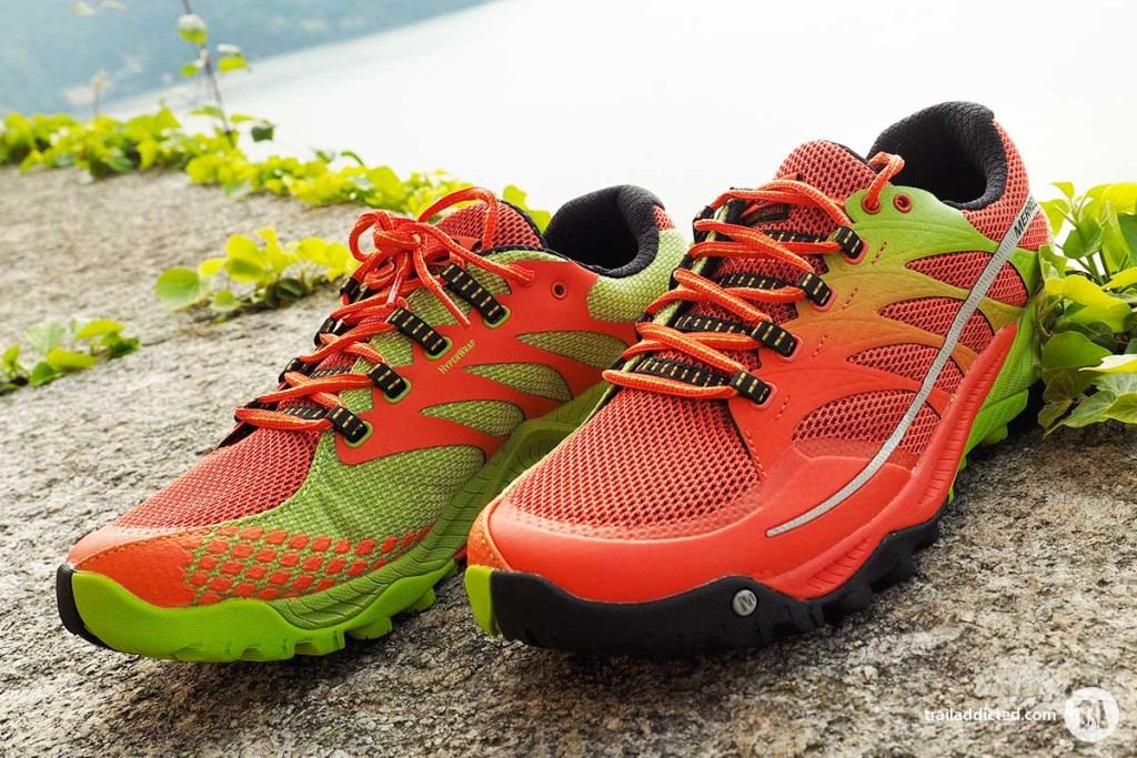 Merrell All Out Charge - Orange/Lime Green