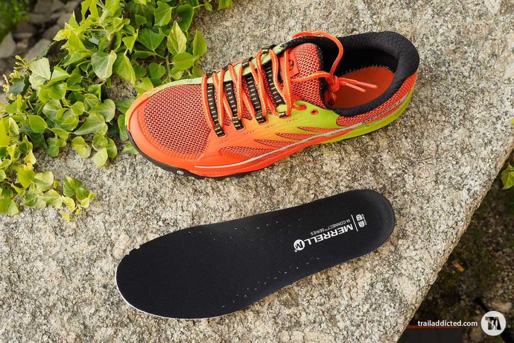 Merrell All Out Charge Orange/Lime