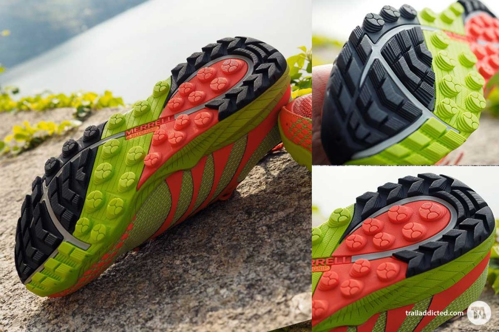 Merrell All Out Charge - M SLECT Grip