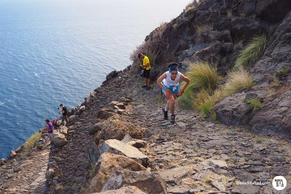 Transvulcania Vertical 2016 - Ohianna Kortazar atleta Team Salomon