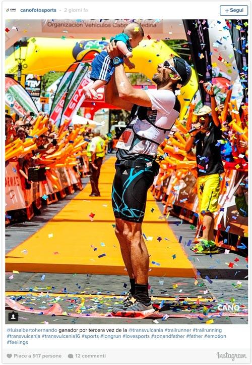 Transvulcania 2016 UltraMarathon Champ - Luis Alberto Hernando