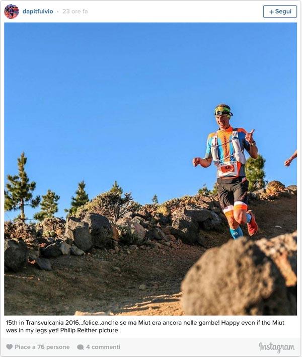 Transvulcania 2016 Ultramarathon - 15° posto per Fulvio Dapit