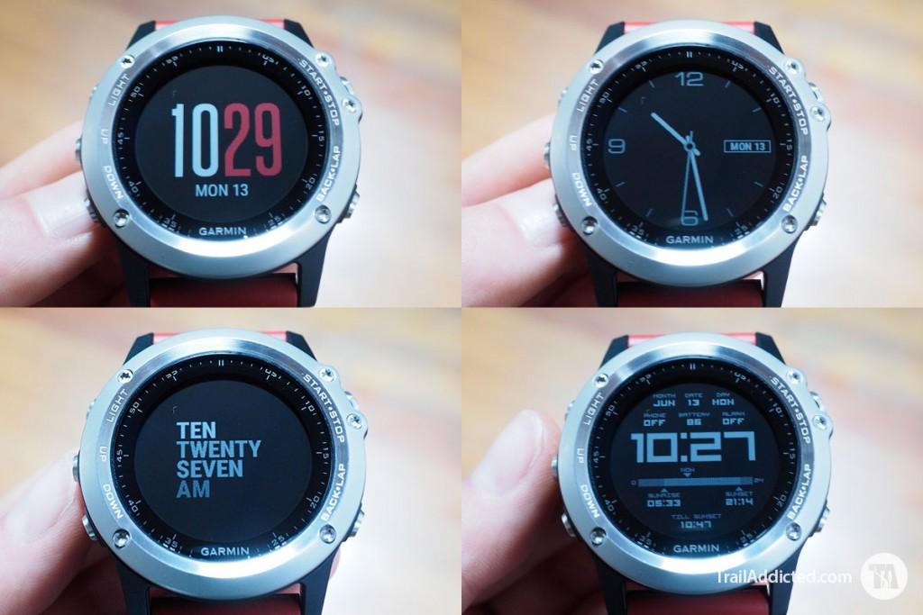 Garmin Fenix3 Watch Faces