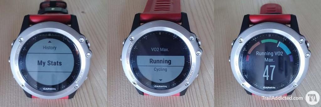 Garmin Fenix3 - VO2max