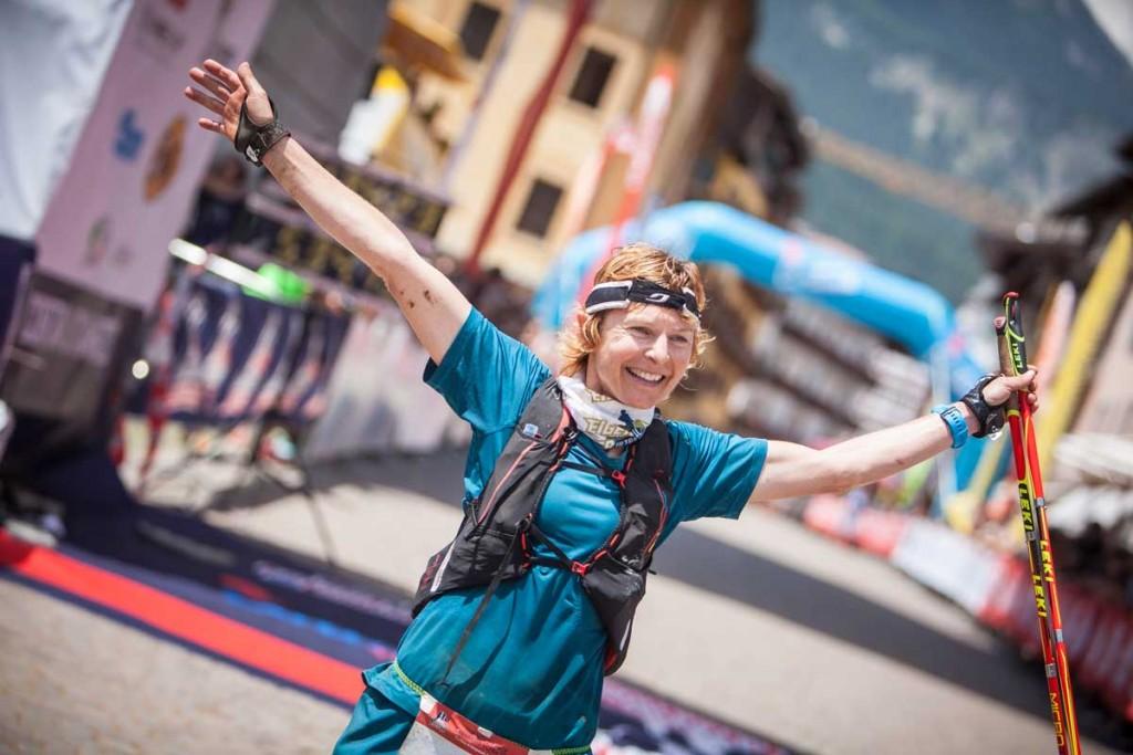 Lavaredo UltraTrail 2016 Winner - Andrea Huser Team Mammut Trailrunning