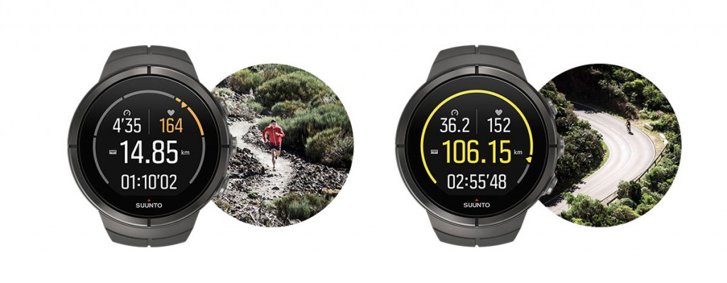 Suunto Spartan Ultra - Activity view