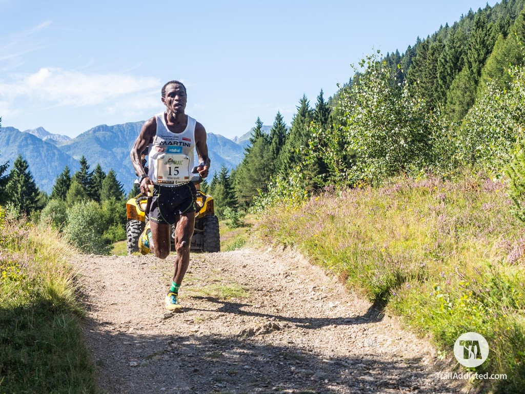 Petro Mamu lead the Fletta Trail 2016