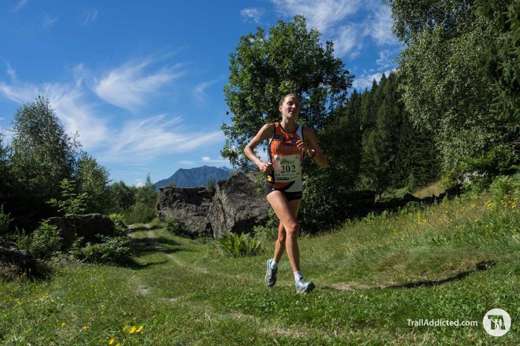 Sara Bottarelli vincitrice del Fletta Trail