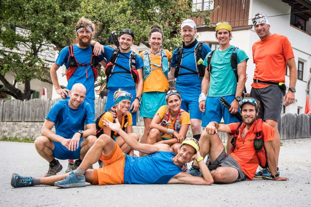 SpeedTransAlp, Day1 - fine tappa