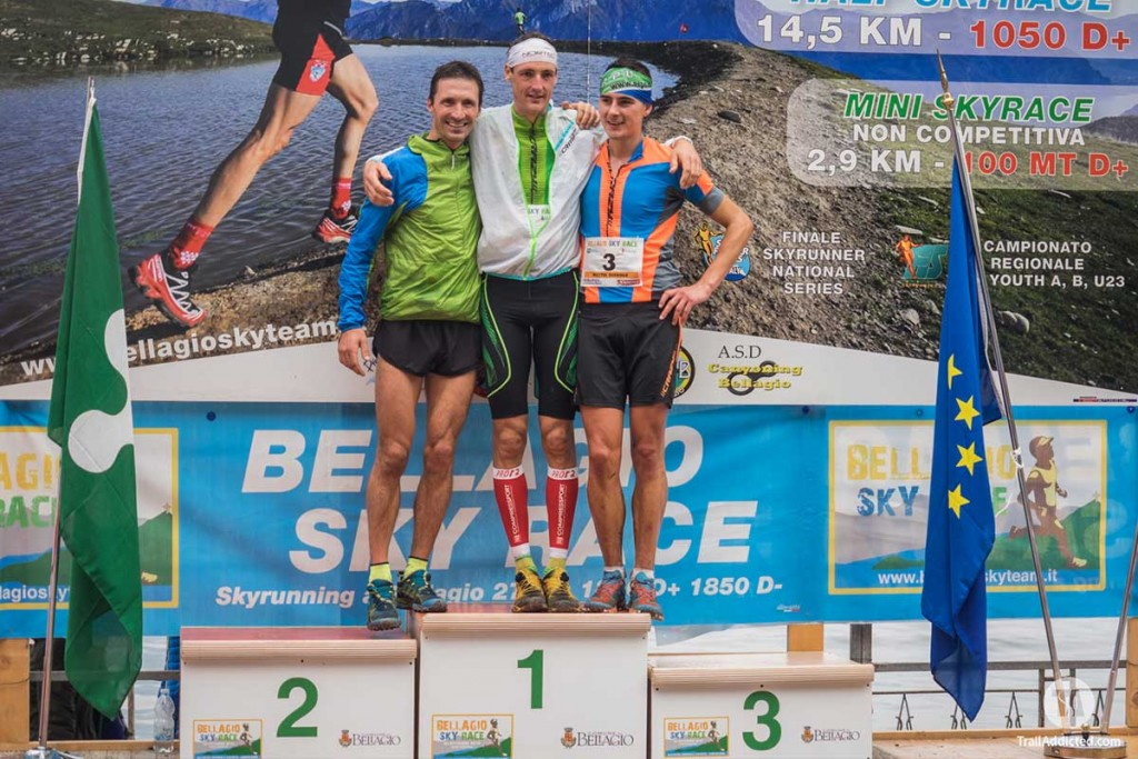 2016 Bellagio Skyrace, Podio
