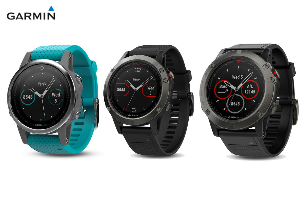 Garmin fenix 5 collection