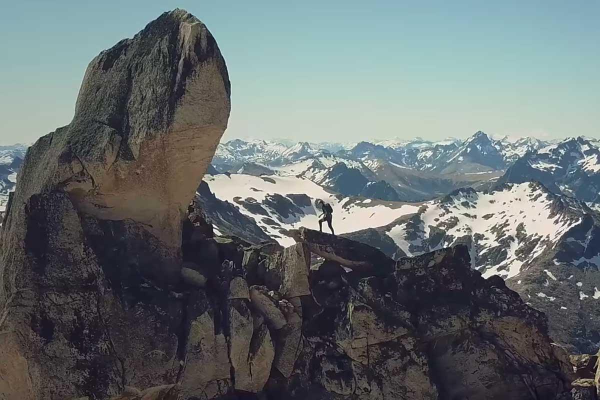 Into Patagonia, Dakota Jones Salomon TV