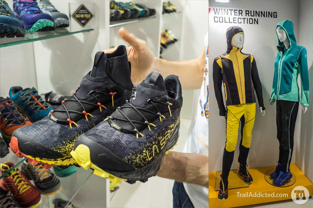 La Sportiva Winter Mountain Running Collection FW17