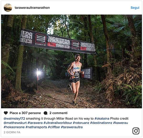Tarawera Ultramarathon 2017 winner, Jim Walmsley