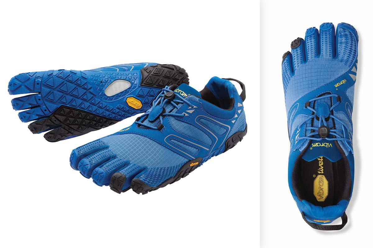 Vibram FIveFingers V-TRAIL Blue Black