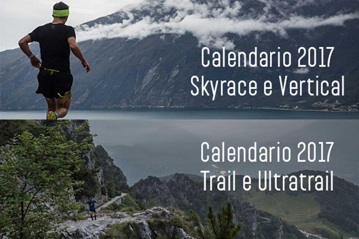 Calendario Trail Running e Skyrace 2017