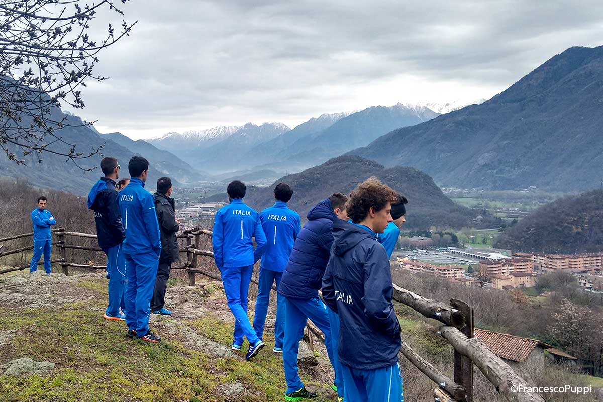 Mountain Runner Italian Team al raduno