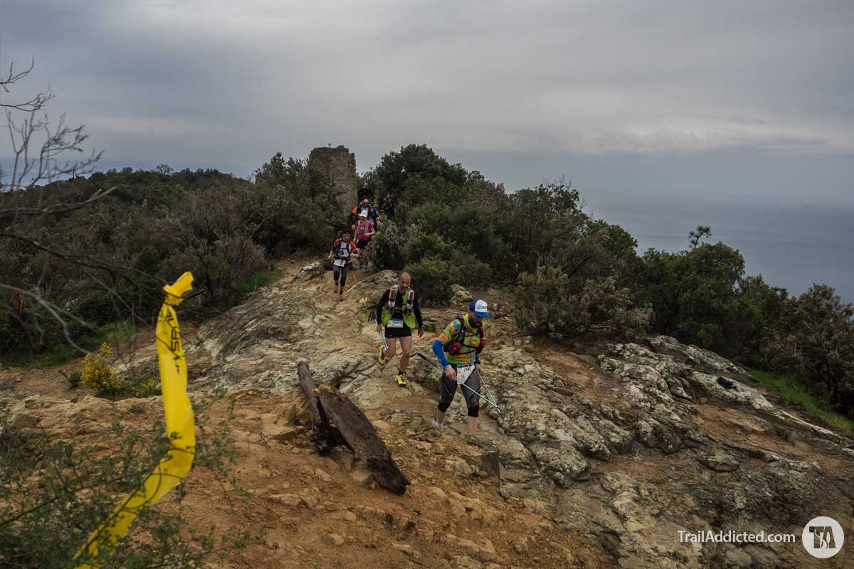 Sciacchetrail 2017 Ultratrail Cinque Terre - punta Mesco