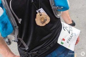 Dal legno la medaglia finisher di Sciacchetrail