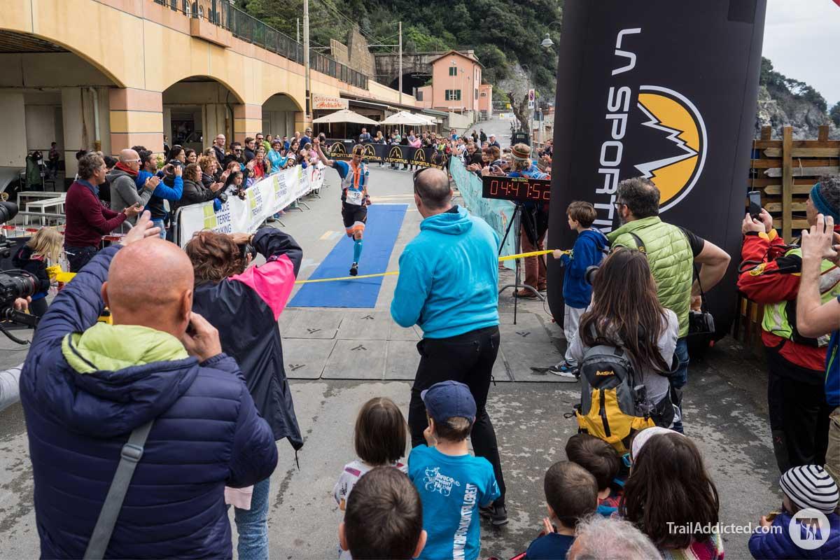 Sciacchetrail 2017 vittoria di Fulvio Dapit