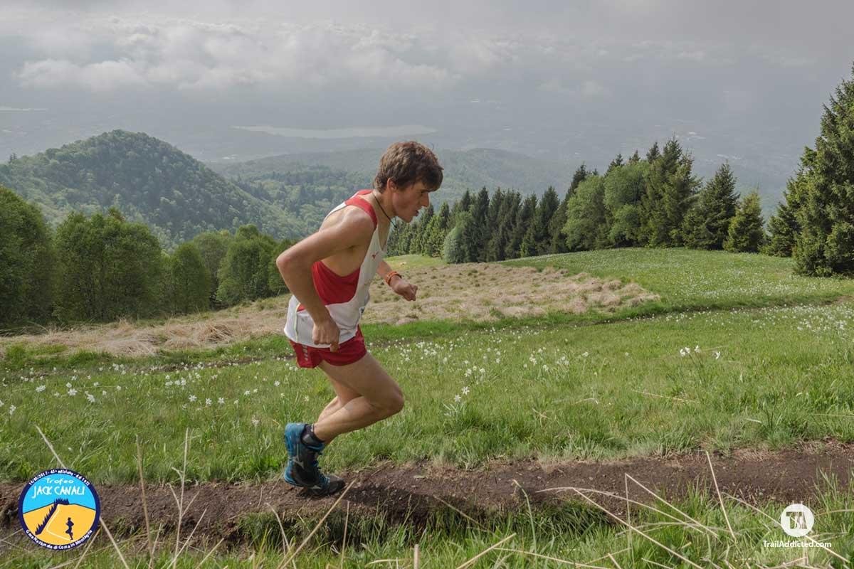 Matteo Bonzi verso la vittoria Junior