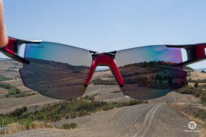 Julbo AeroLite, visione dalla lente ZebraLight