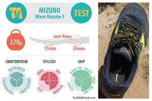 Mizuno Wave Hayate 3 Recensione TrailAddicted